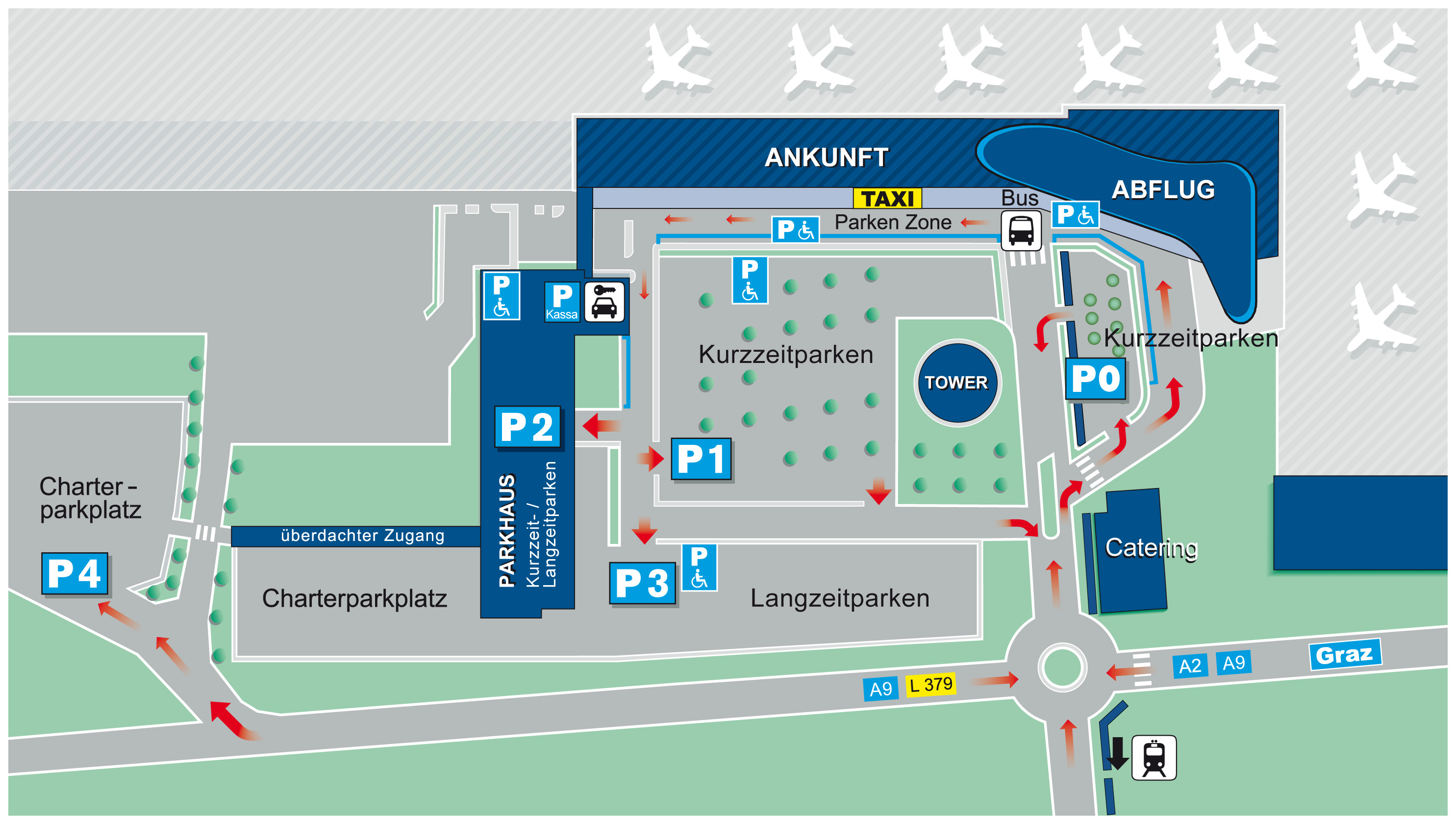Flughafen Graz Taxi Amp Shuttle Flightinformation