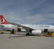 Turkish Airlines aircraft on tarmac.