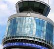 The control tower of Graz Airport.